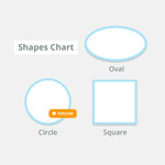 Cut-to-Size Labels Shapes
