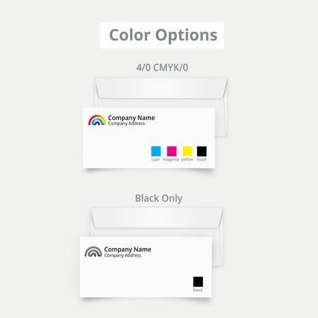 Envelope Ink Color