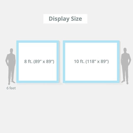 Pop Up Display Size
