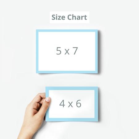 Posctcard Size