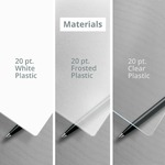 Type of Materials for Plastic business cards