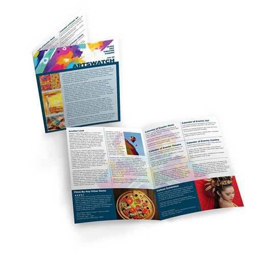 Single Fold Newsletters