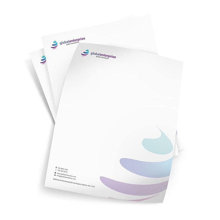 personalized business letterheads
