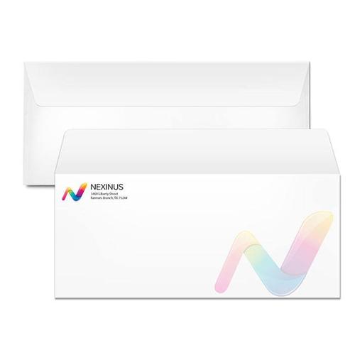 envelopes with customized logo